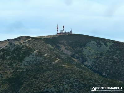 Siete Picos:Senda Herreros,Camino Schmid(Schmidt); bola del mundo; Guarramillas;camino de santiago e